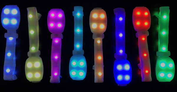 intelligent-radio-controlled-led-wristbands