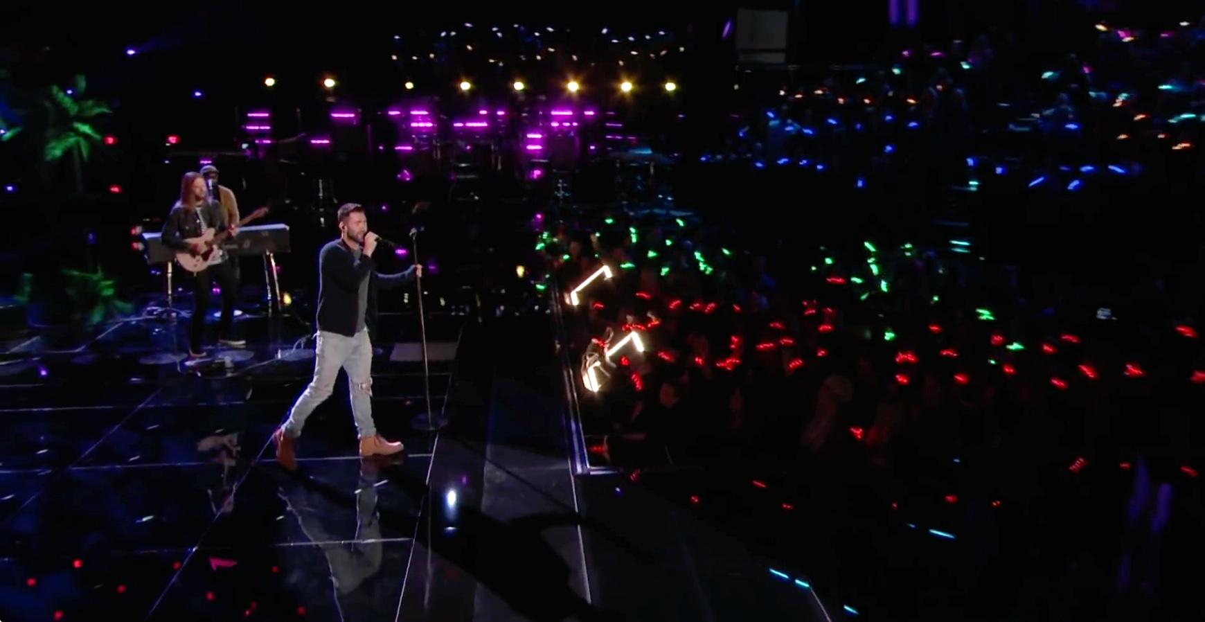 The Voice Adam Levine Maroon 5