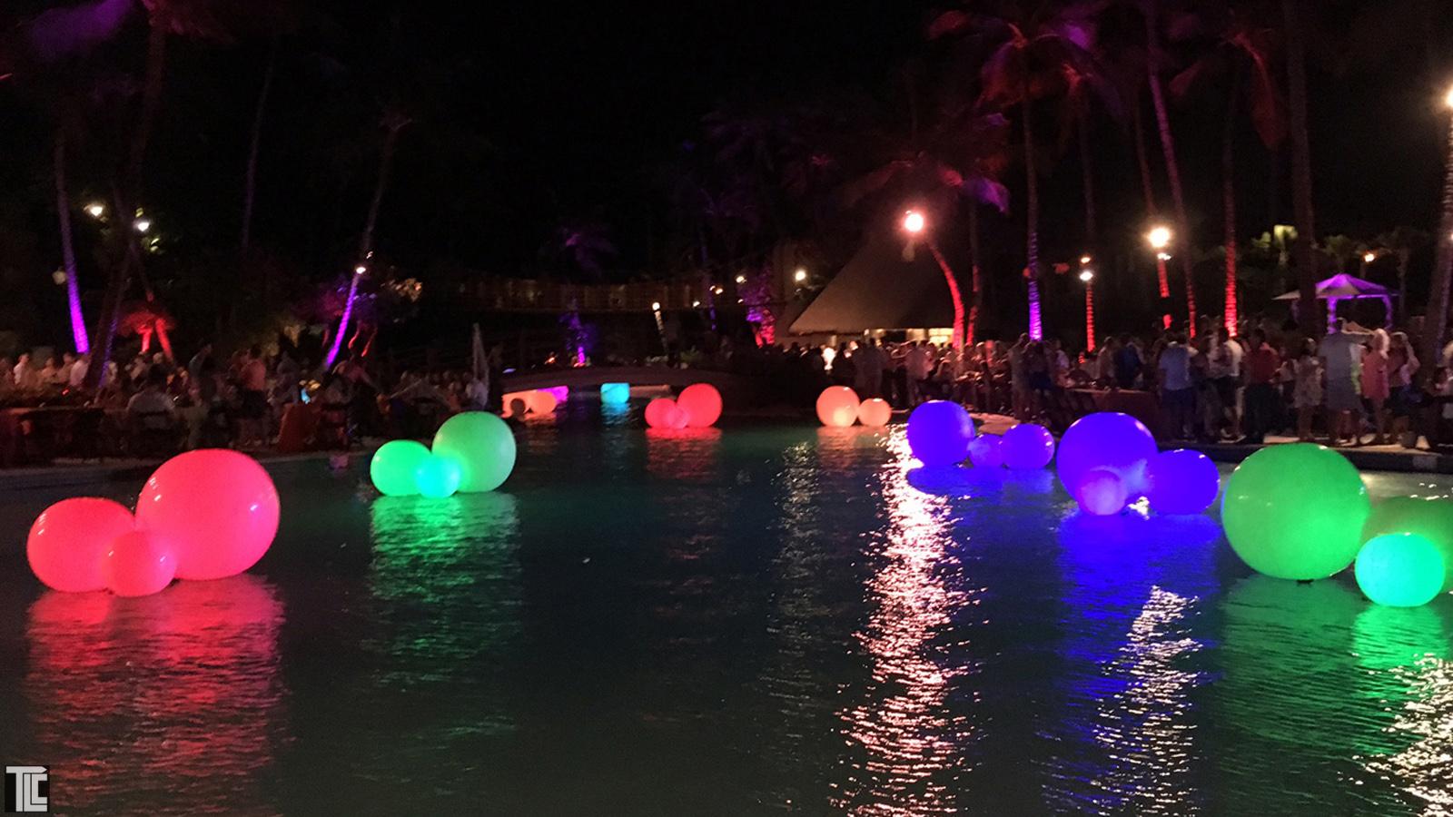 glow balls TLC