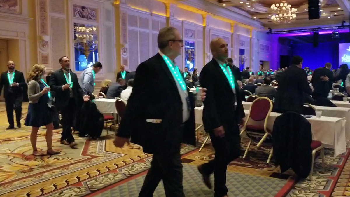 lanyards conf XYLOBANDS LIGHT UP